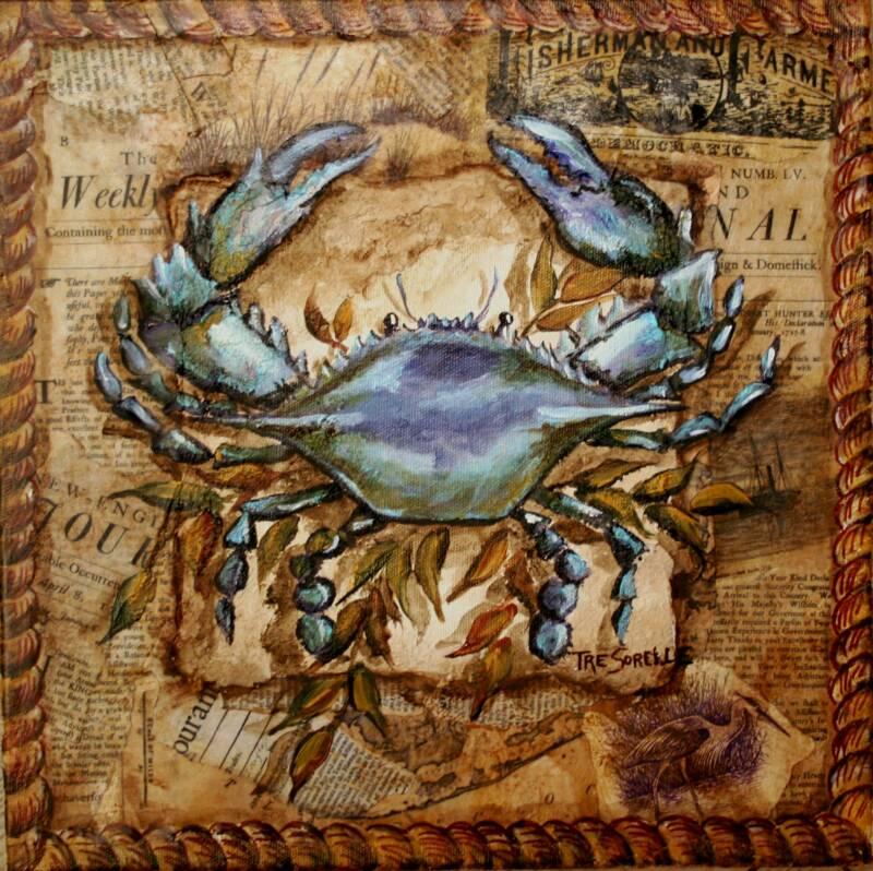 Crab Decorations Kitchen