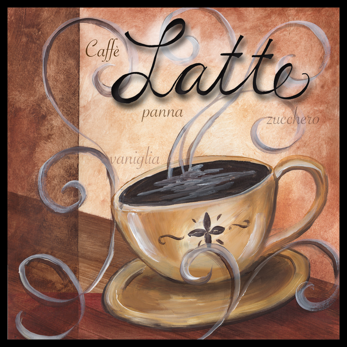 Cafe Latte Decor Kitchen Home Decorating Ideas