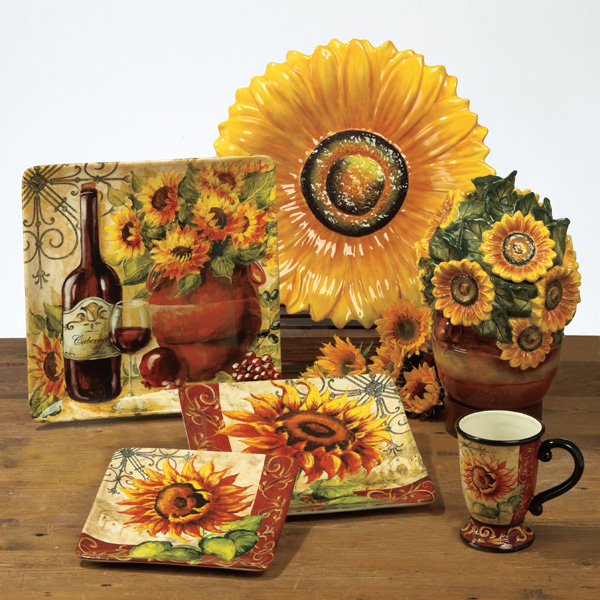 Tre Sorelle Tableware: Casual Melamine, Hand-Painted Glass and