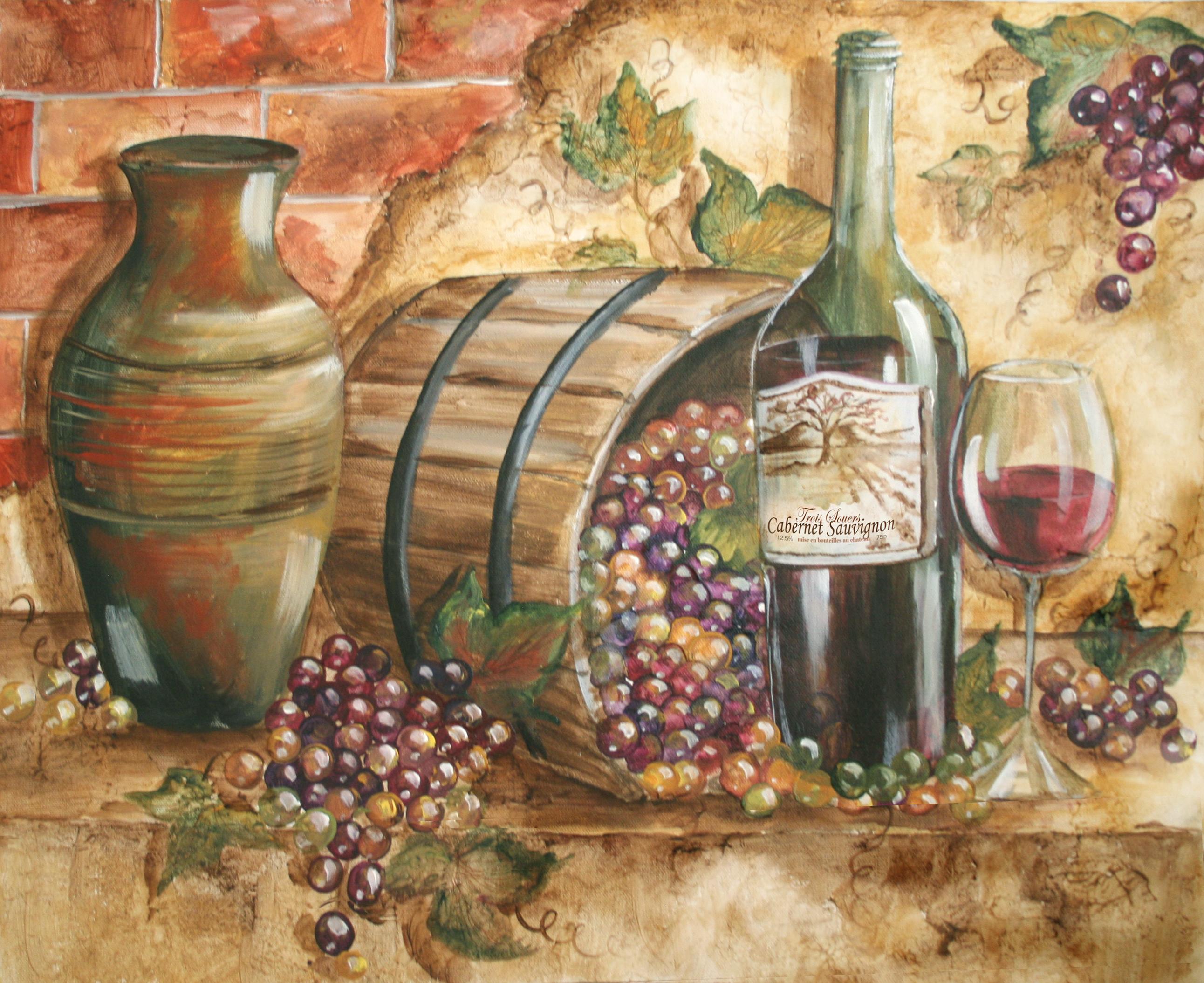 Tre sorelle 39 s art licensing program for Paint vino