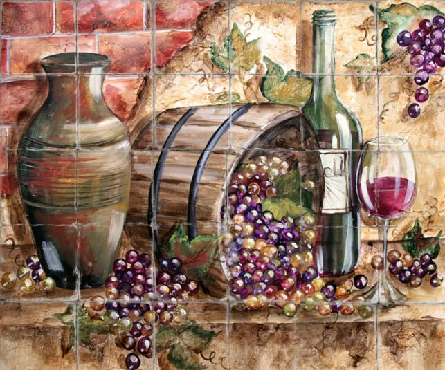 Kitchen accessories grapes home decoration club for Wine themed kitchen ideas