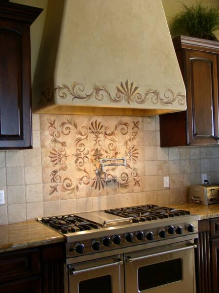 Kitchen Backsplash Medallions tile medallions backsplash - free shipping handling innovative